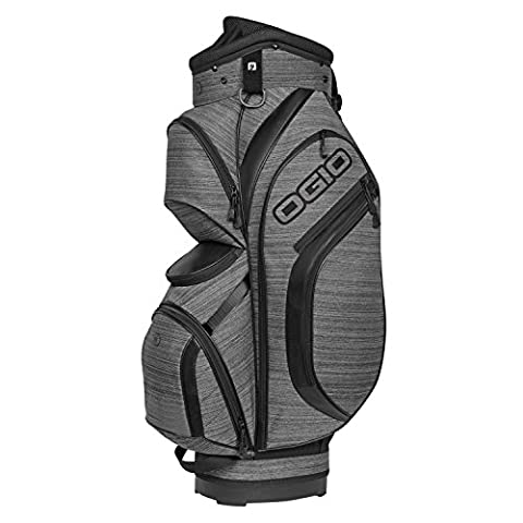 Ogio 2017 Press Cart Bag Mens Golf Trolley Bag 8-Way Divider Gray Noise