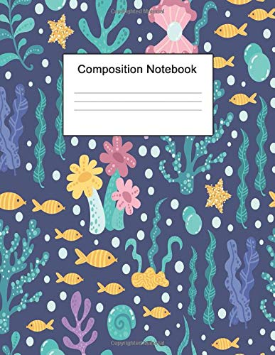 Composition Notebook: 8.5 x 11 College Ruled Journal Paper (Rod Case Ice)