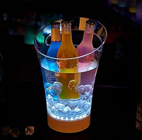Lumière LED Chargeur Barre à main Bar Barre à glace Fournitures de barres Barils à vin Barils Vin Vin Vin Barils à champagne