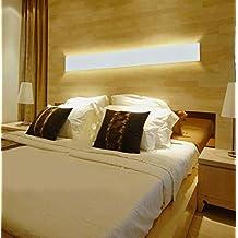 K-Bright K-Bright Wall Lamp LED Wall Lamp 20W, Aluminum Lamp, 3000K Wall Lamp, 61CM White Night Light for Corridors, Rails, Wall, Wall, Garden, Courtyard, House