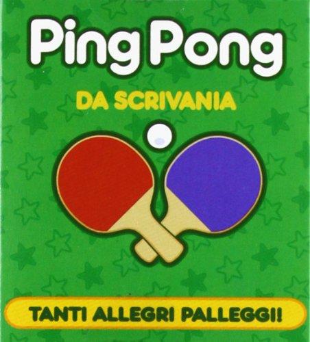Ping pong da scrivania. Con gadget