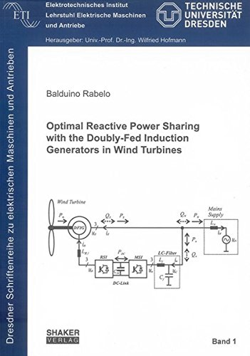 Optimal Reactive Power Sharing with the Doubly-fed Induction Generators in Wind Turbines (Dresdner Schriftenreihe Zu Elektrischen Maschinen Und Antrieben)