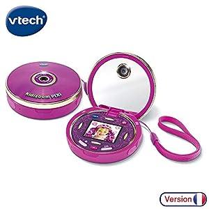 VTech Kidizoom Pixi - Electrónica para niños (Rosa, 6 año(s), Niño/niña, 13 año(s), Francés, 80 mm)