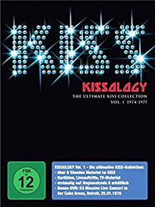 Kiss - Kissology Vol. 1: 1974-1977 Cobo Arena (exklusiv bei Amazon.de) [2 DVDs]