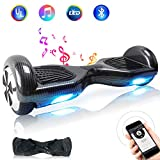 "TOEU Hoverboard, 6.5"" Self Balance Scooter mit 2 * 250W Motor, LED Lights Elektro Scooter"