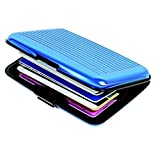 #8: DFS Fashionable ALUMA WALLET Multicolor Credit Card Case (Buy 1 Get 1 Free)(Men and Women) (Colors may vary)