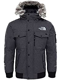 The North Face M Gotham Chaqueta, Hombre, Gris (TNF Dark Grey), Talla del Fabricante: L