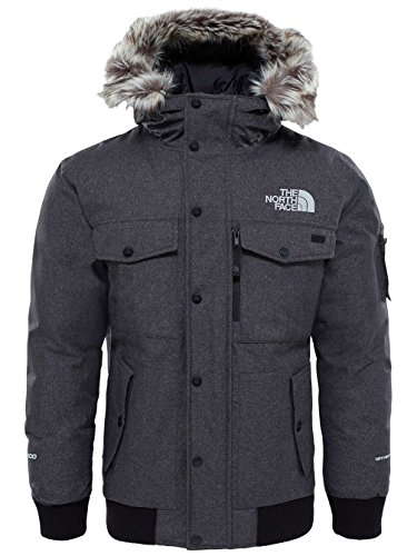 The North Face M Gotham Jacket Chaqueta, Hombre, TNF Dark Grey, M