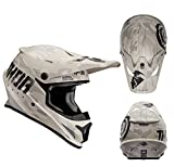 Thor Crosshelm Sector Covert Sand Motocross Enduro MX Helm matt braun Gr. XL
