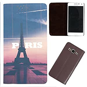 DooDa - For Micromax Nitro 2 E311 PU Leather Designer Fashionable Fancy Flip Case Cover Pouch With Smooth Inner Velvet