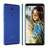 Vernee M6 Smartphone Ohne Vertrag Android 7.0 Dual Sim Dual Standby, mit 5,7 Zoll 18: 9 HD-Display, 2.5D Dünner Metallkörper, 16MP + 13MP Kamera, 4GB RAM + 64GB ROM, MTK6750C Octa-Core-Prozessor, 128GB externer Speicher, 3300mAh Akku mit Schnellladung, Benachrichtigungs-LED, schnelle Fingerabdruck-Entsperrung, GPS + GLONASS, 4G Handy