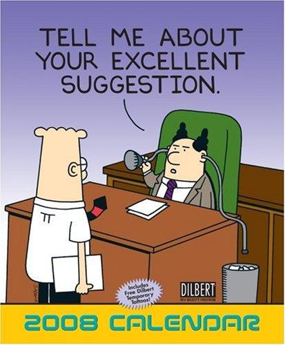 Click for larger image of Dilbert 2008 Wall Calendar