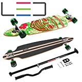 MARONAD Longboard Drop Through Race Cruiser ABEC-11 ARUBA LED und der MARONAD STICK