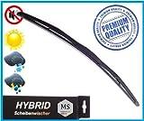 1 x Premium HYBRID Scheibenwischer 650 - mm / Front - Frontscheibenwischer / Wischerblätter AERO / Premium Qualität SHYBPOLY-895