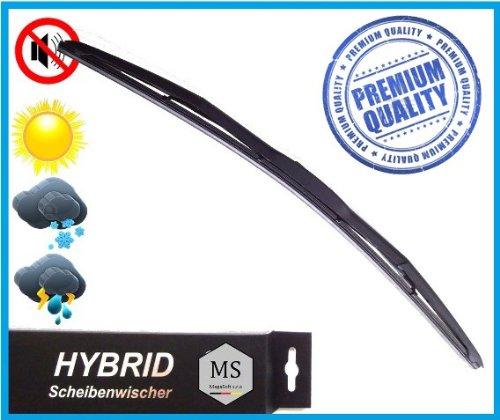 Preisvergleich Produktbild 1 x Premium HYBRID Scheibenwischer / 400mm / Heck / Wischerblätter AERO / Premium Qualität SHYBPOLY-1060