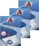 FUCHS Staubsaugerbeutel 2 3 Pakete 2: 15 Staubsaugerbeutel, 3 Luftfilter, 3 Motorfilter für 28 AEG Vampyr Electrolux Progress P 60 Privileg