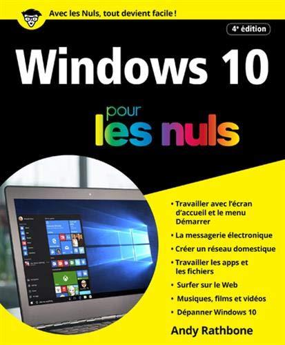 Windows 10 pour les Nuls, grand format, 4e