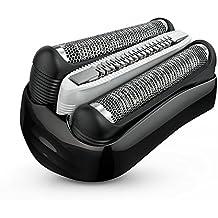 Braun 32B - Recambio para afeitadora eléctrica, compatible con afeitadoras Series 3, color negro