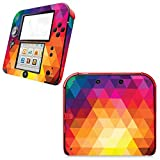 Yizhi Cartoon Pattern Cover Case Skin Sticker Decals per Nintend 2DS