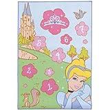 Fun House 711636 Princesas Disney - Alfombra con diseño de rayuela