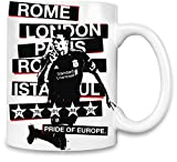 Pride Of Europe Football Hooligan UEFA Kaffee Becher