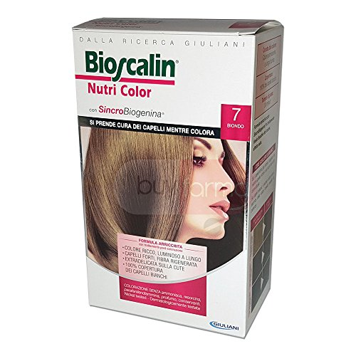 BIOSCALIN Nutri Color colorazione permanente Biondo 7