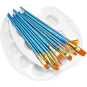 Zenacolor 24 Tubes De Peinture Acrylique 24 X 12 Ml Amazonfr