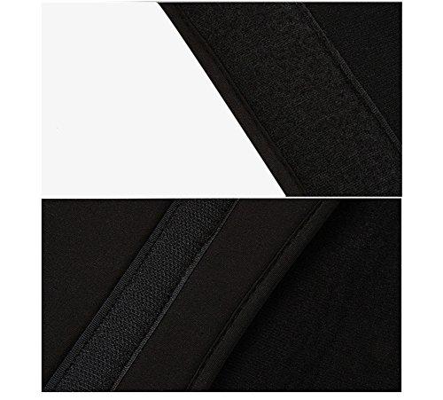 YiJee Sleeve per Laptop Impermeabile Custodia di Borsa per Portatile Caso Protettiva 12 Pollice Nero 2