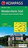 Niederrhein Süd - Naturpark Maas - Schwalm - Nette: Wanderkarte mit Kurzführer und Radrouten. GPS-genau. 1:50000 (KOMPASS-Wanderkarten, Band 755)
