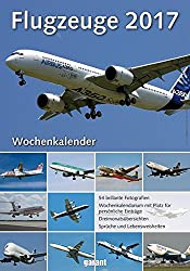 Wochenkalender - Flugzeuge 2017