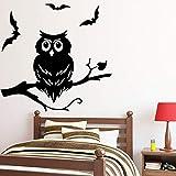 Amusant Owl Stickers Muraux Ameublement Décoratif Sticker Mural Pour Enfants Chambre...