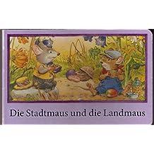 Die Stadtmaus und die Landmaus (Mini-Bilderbuch Querformat)