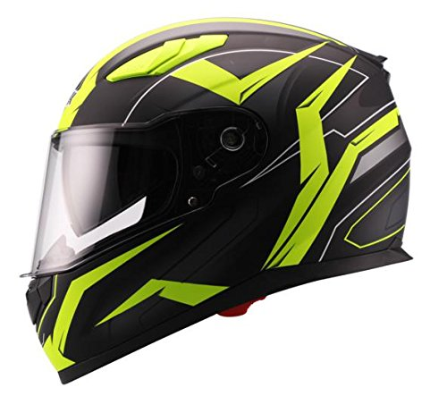 Unik Ci-01 Casco Integral Flash con Visera Solar
