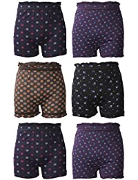 BODYCARE Printed Girls Bloomer Pack of 6 from