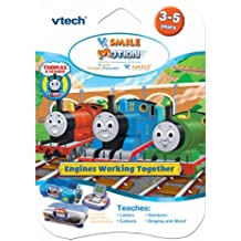 Vtech vsmile Vmotion Thomas & Friends Juego de Aprendizaje (Juguetes) (importado de Inglaterra)