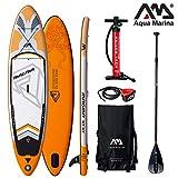 Aqua Marina Aufblasbare Sup Paddle Stand AQUAMARINA Magma 2019 Volle Packung 330 * 81 * 15 10'10
