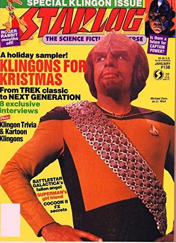 Starlog Magazine The Sci Fi Comics: January 1989 (English Edition)