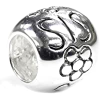 Queenberry - Bead Charm sorella in argento sterling, ideale per