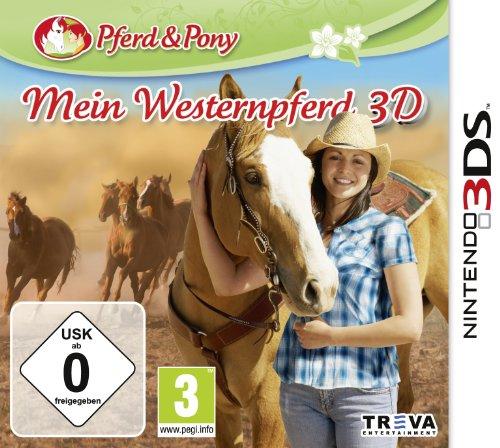 Mein Westernpferd 3D - [Nintendo 3DS]