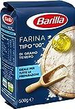 """Barilla - Farina di Grano Tenero, Tipo """"00"""" - 8 pezzi da 500 g [4 kg]"""