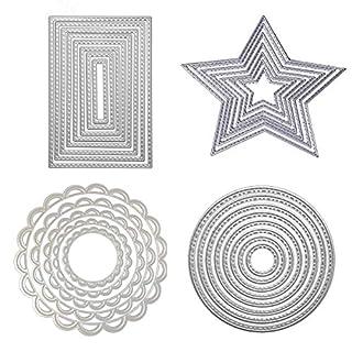 Yodensity Stanzschablonen Kohlenstoffstahl Schneiden Schablonen DIY Sammelalbum Set Scrapbooking Papier Karten