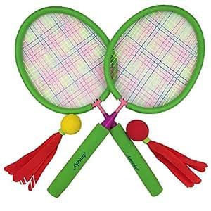 aoneky badminton schl ger set f r kinder hot outdoor spielzeug f r kinder ber 3 jahre alt. Black Bedroom Furniture Sets. Home Design Ideas
