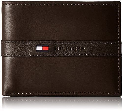 Tommy Hilfiger Leather Wallet Brown