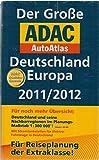 Der Große ADAC Autoatlas D/E 2011/2012