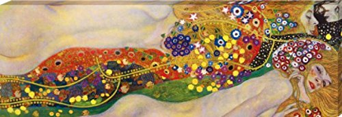 Gustav Klimt - Serpientes De Agua II