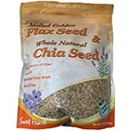Milled Flax sees and Whole Natural Chia seed