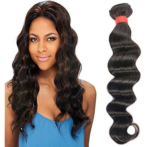 M@YZ 100% reale dei capelli grande onda lunga perm capelli ricci può essere parrucca (3pcs) , 36cm