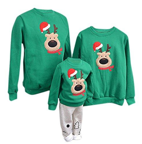 YaoDgFa Ugly Weihnachts Pullover Sweatshirt Weihnachten Xmas Sweater -
