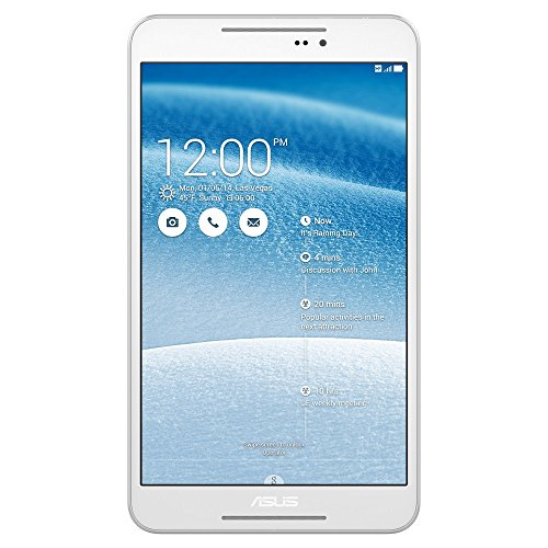 Asus FE380CXG-1B010A FonePad 8 Tablet  8 Pollici, 3G, LED, Intel Clover Trail Plus Z3530 1.3 GHz Quad Core, 8 GB di SSD, Android KitKat 4.4, Bianco