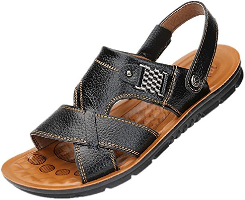 Bebete5858 - Sandalias de vestir de Material Sintético para hombre